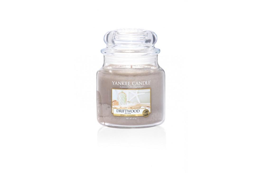 Yankee Candle Driftwood Świeca zapachowa ŚREDNIA