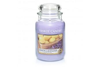 Yankee Candle Lemon Lavender Świeca zapachowa DUŻA