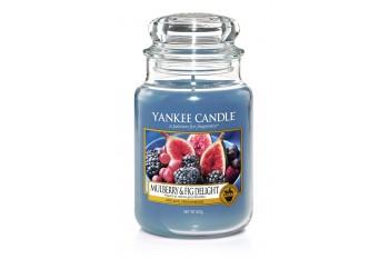 Yankee Candle Mulberry & Fig Delight Świeca zapachowa DUŻA