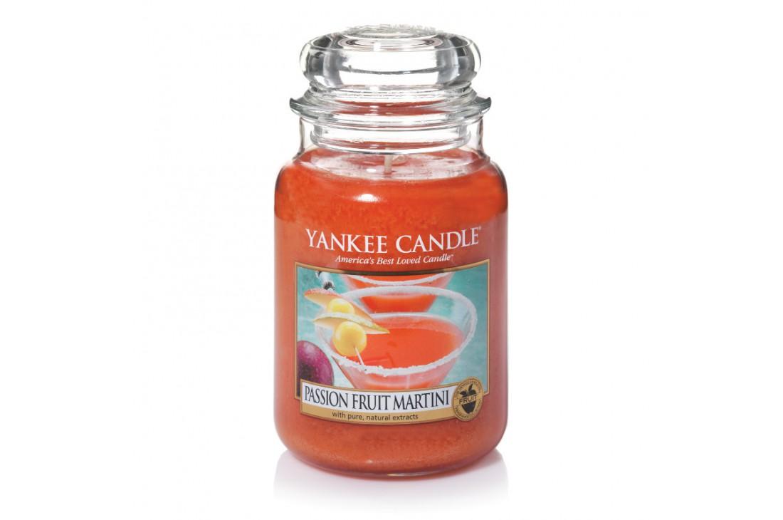 Yankee Candle Passion Fruit Martini Świeca zapachowa DUŻA