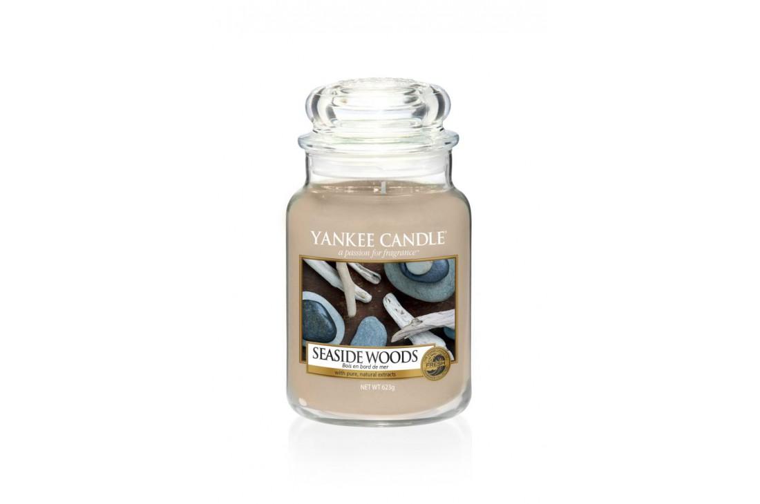 Yankee Candle świeca zapachowa Seaside Woods (Słoik duży)