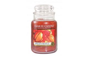Yankee Candle Spiced Orange Świeca zapachowa DUŻA