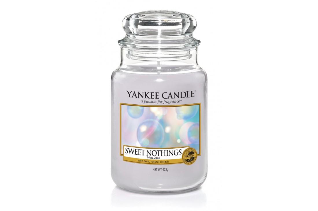Yankee Candle Sweet Nothings Świeca zapachowa DUŻA