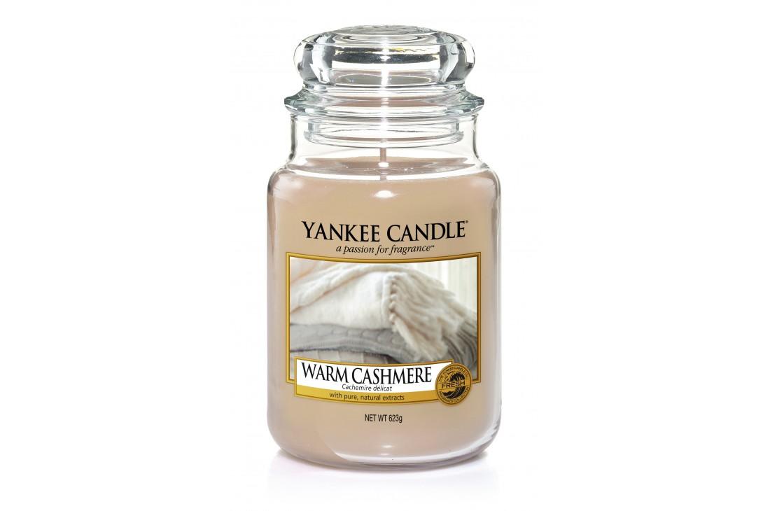 Yankee Candle Warm Cashmere Świeca zapachowa DUŻA
