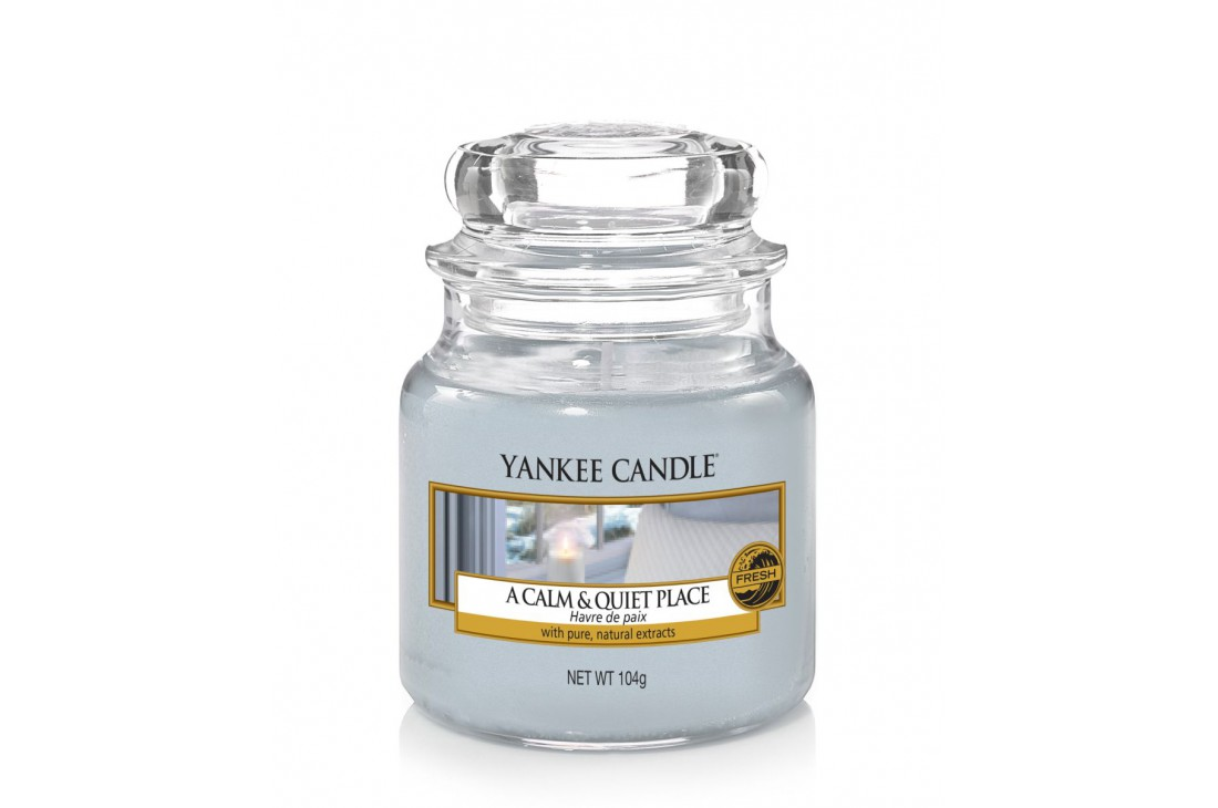 Yankee Candle A Calm & Quiet Place Świeca zapachowa MAŁA