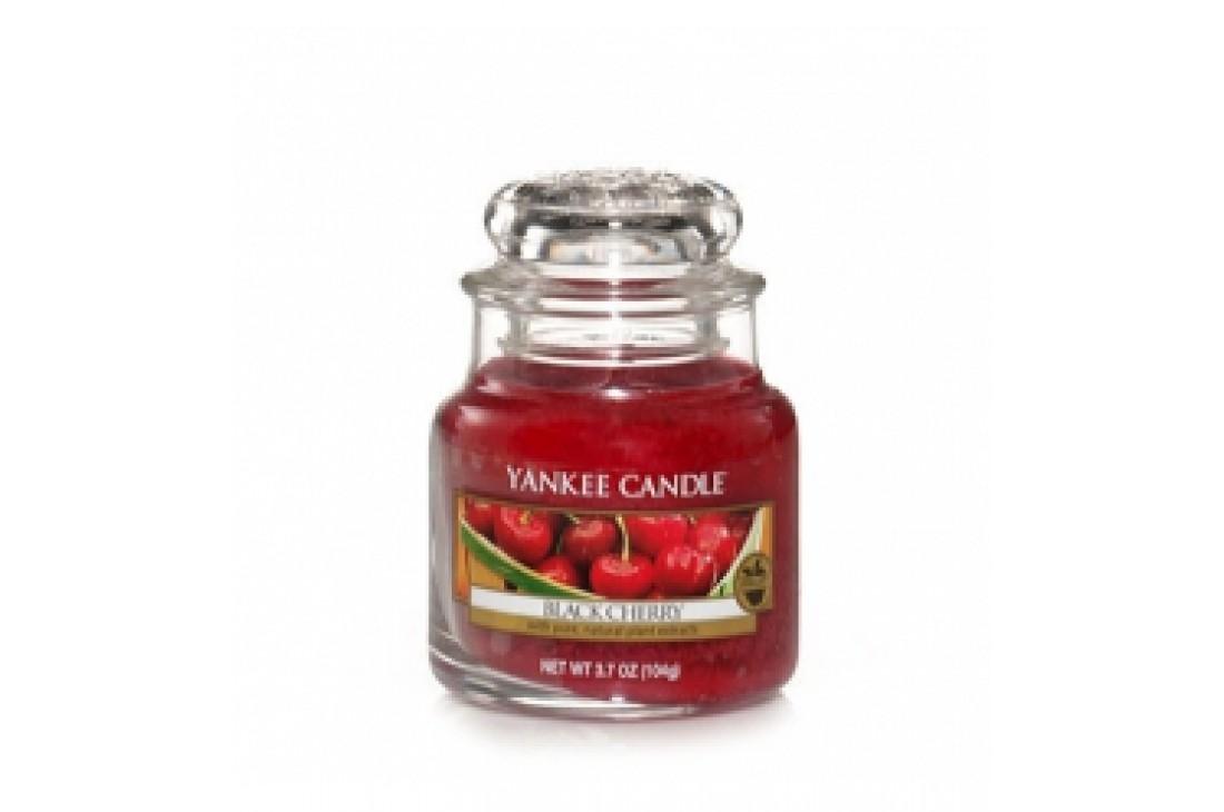 Yankee Candle Black Cherry Świeca zapachowa MAŁA