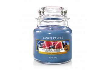 Yankee Candle Mulberry & Fig Delight Świeca zapachowa MAŁA