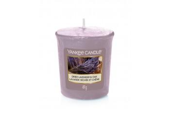 Yankee Candle świeczka Dried Lavender & Oak (Votive)