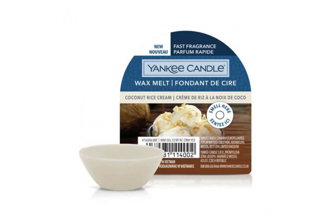 Yankee Candle Coconut Rise Milk (Wosk zapachowy) NEW