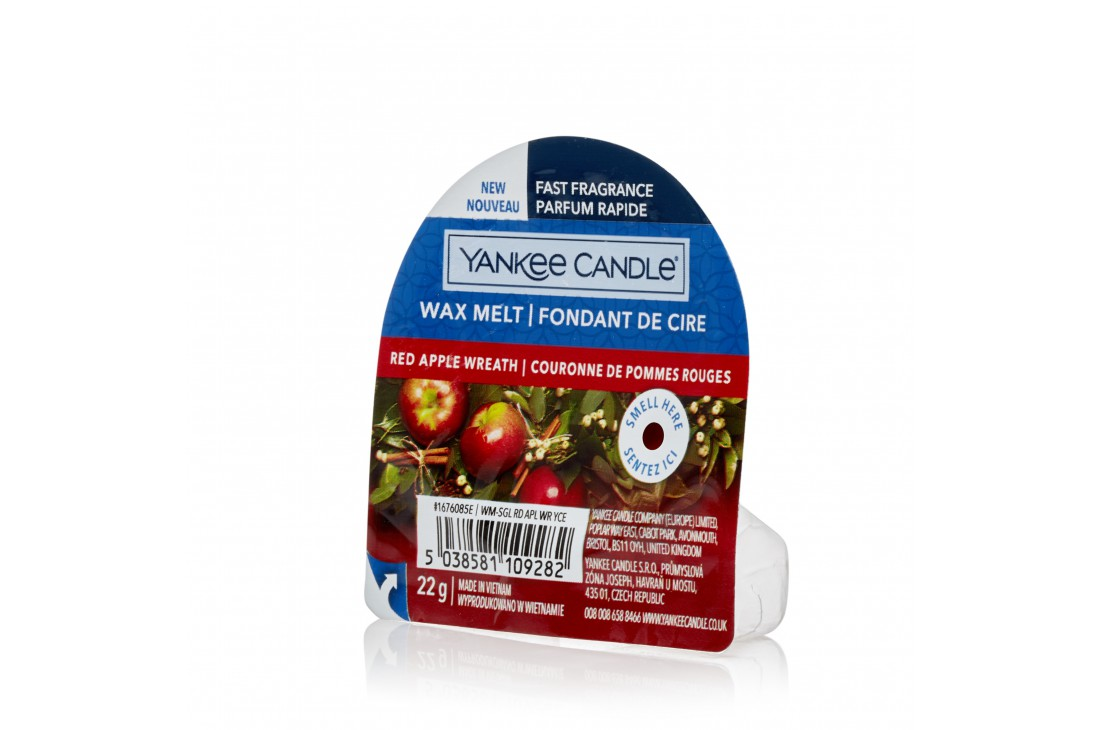 Yankee Candle Red Apple Wreath (Wosk zapachowy) NEW