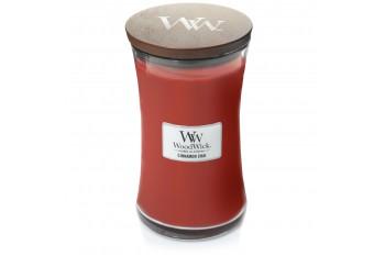 Woodwick Cinnamon Chai Świeca Zapachowa Duża