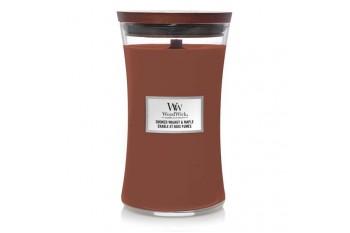 WoodWick Smoked Walnut & Maple Świeca Zapachowa Duża