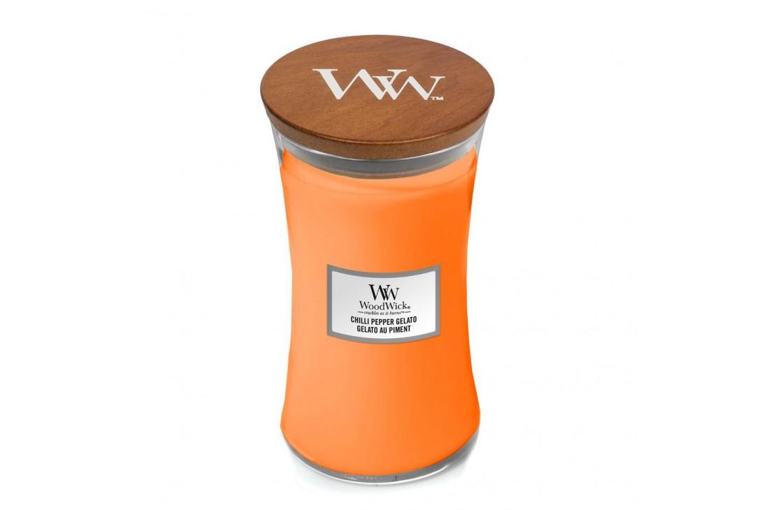 WoodWick Chilli Pepper Gelato Świeca Zapachowa Duża