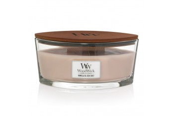 WoodWick Vanilla & Sea Salt (Świeca Elipsa)