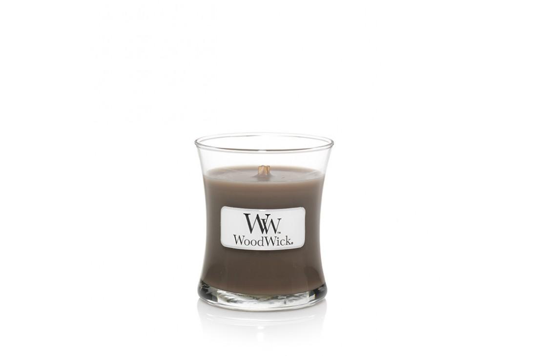 WoodWick Amber & Incense (Świeca mała)