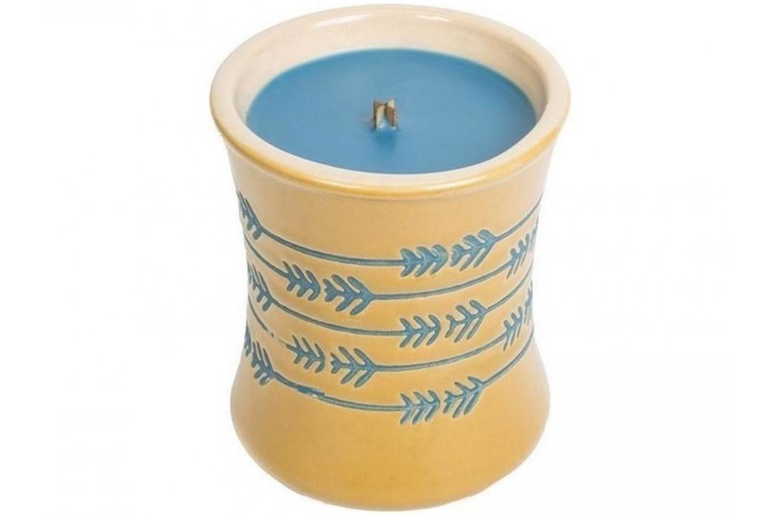 WoodWick Denim Ceramic (Świeca mała)
