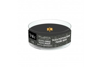 Woodwick Black Peppercorn Świeca Petite