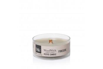 Woodwick Fireside Świeca Petite