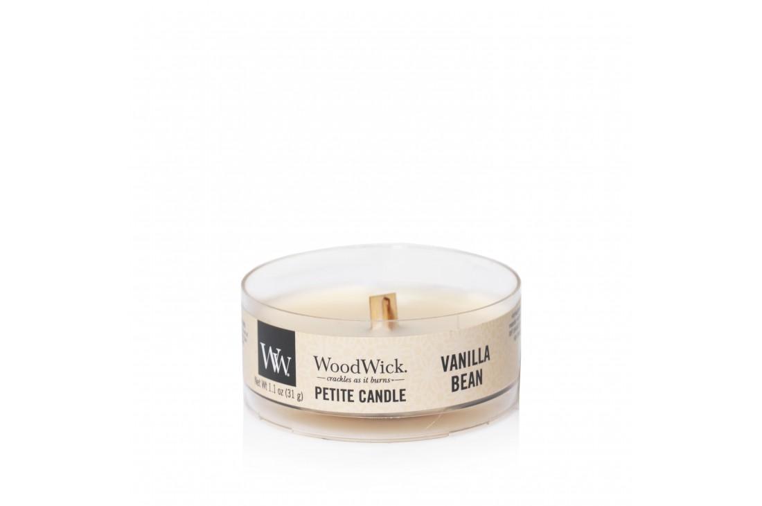 Woodwick Vanilla Bean Świeca Petite