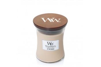 Woodwick White Honey (Świeca średnia)