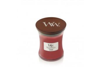 WoodWick Currant Świeca Zapachowa Średnia