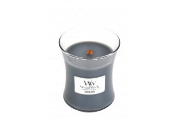 Woodwick Evening Onyx Świeca Zapachowa Średnia