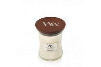 WoodWick Island Coconut Świeca Zapachowa Średnia