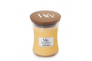 WoodWick Seaside Mimosa Świeca Zapachowa Średnia