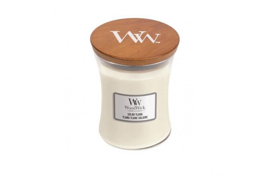 Woodwick Solar Ylang Świeca Zapachowa Średnia