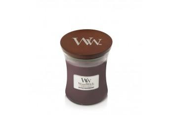 WoodWick Spiced Blackberry Świeca Zapachowa Średnia