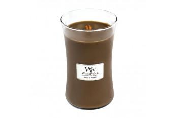 WoodWick Amber & Incense Świeca Zapachowa Duża