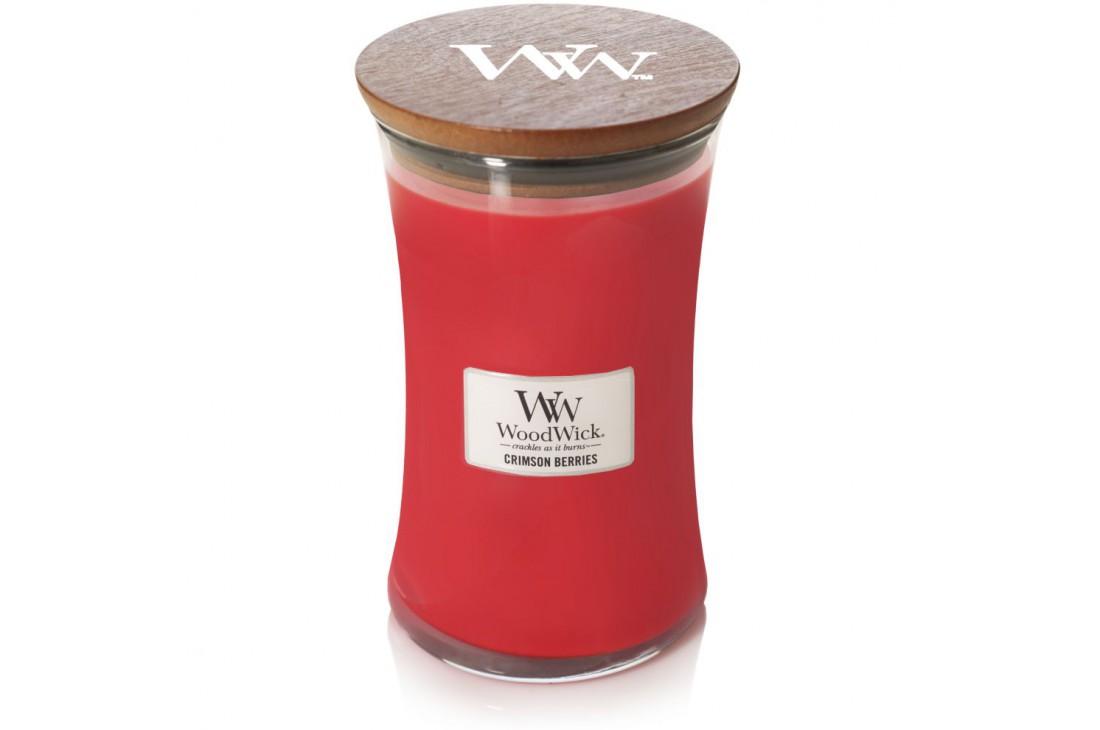 WoodWick Crimson Berries Świeca Zapachowa Duża