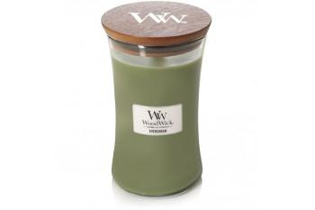 WoodWick Evergreen Świeca Zapachowa Duża