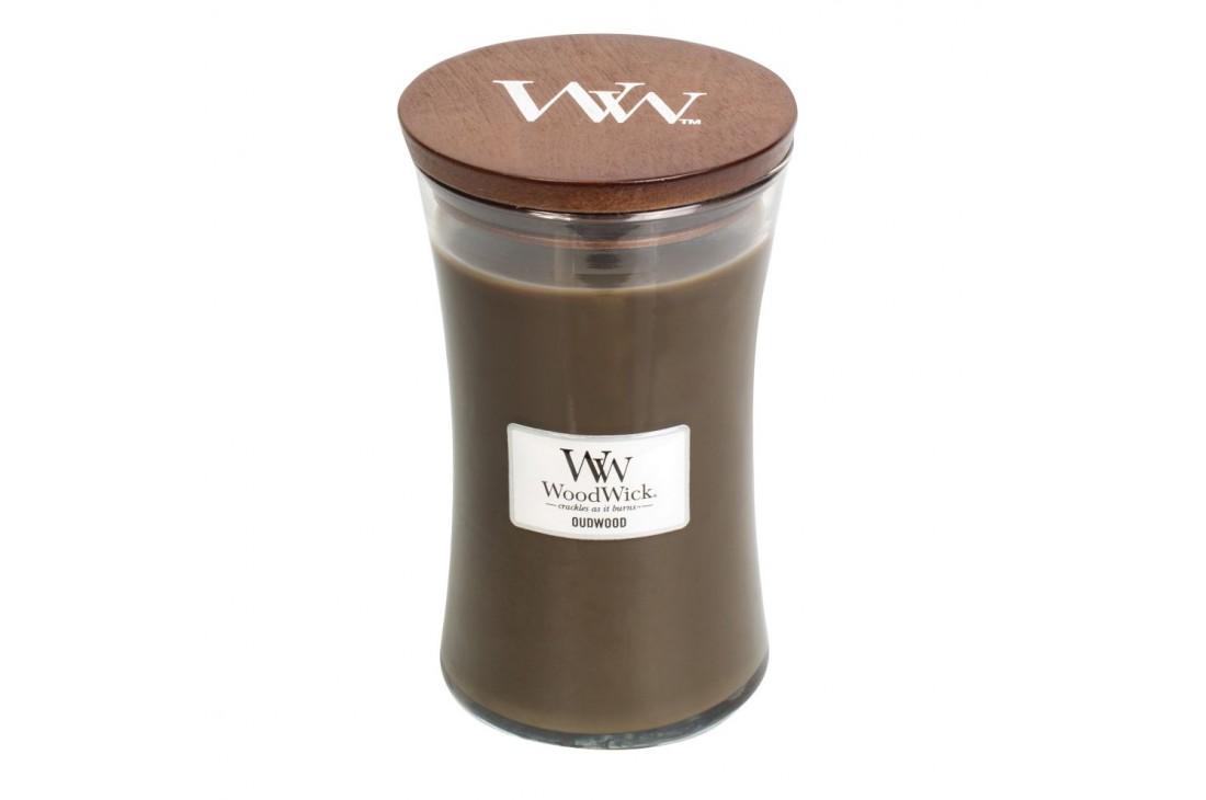 WoodWick Oudwood Świeca Zapachowa Duża