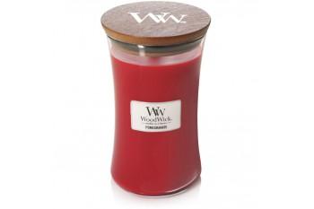 WoodWick Pomegrnanate Świeca Zapachowa Duża