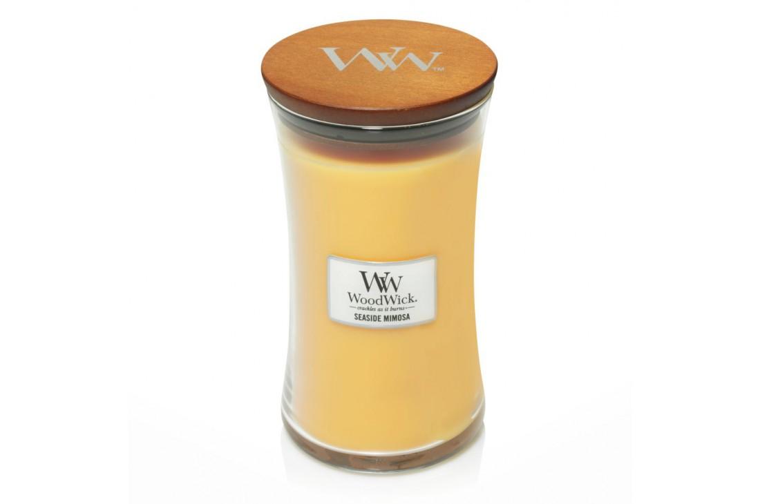 WoodWick Seaside Mimosa Świeca Zapachowa Duża