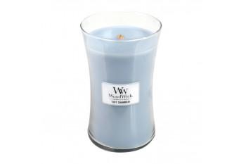 WoodWick Soft Chambray Świeca Zapachowa Duża