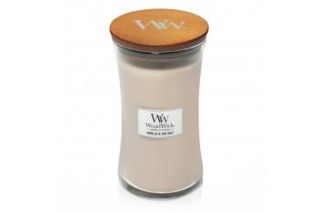 WoodWick Vanilla & Sea Salt (Świeca duża)