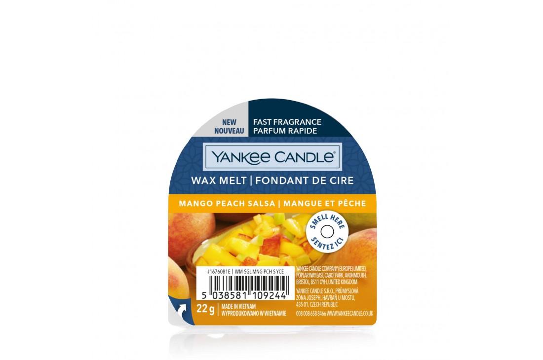 Yankee Candle Mango Peach Salsa (Wosk zapachowy) NEW
