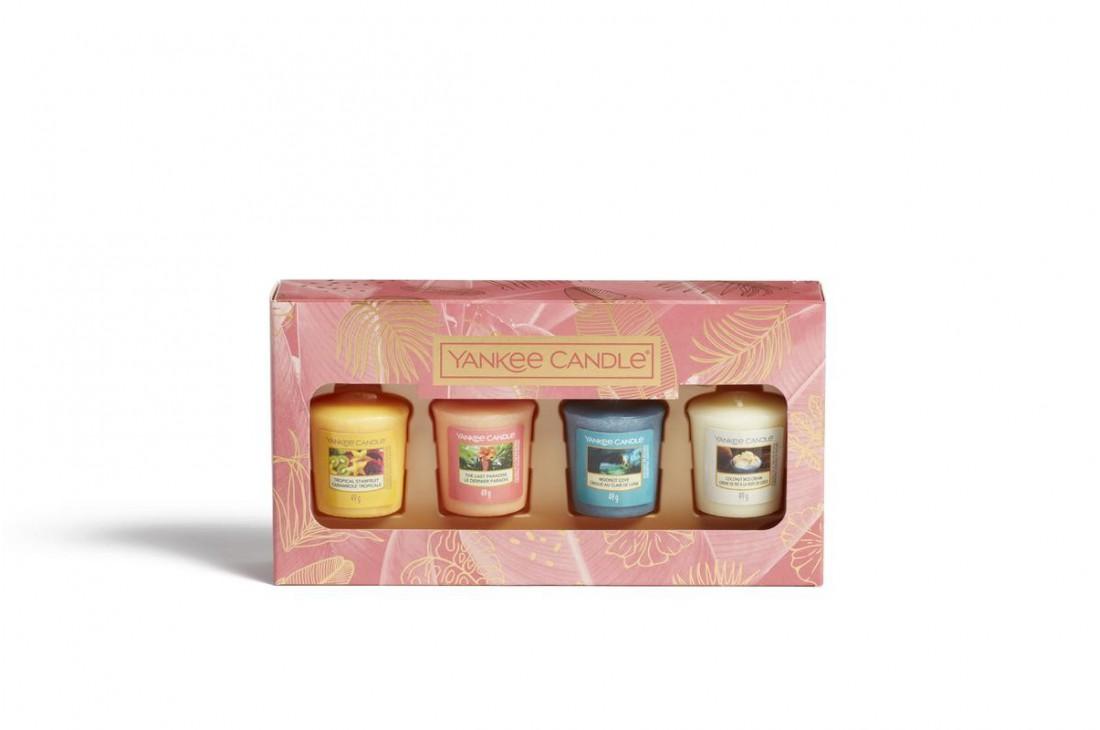 Yankee Candle The Last Paradise - Zestaw 4 świec typu votive