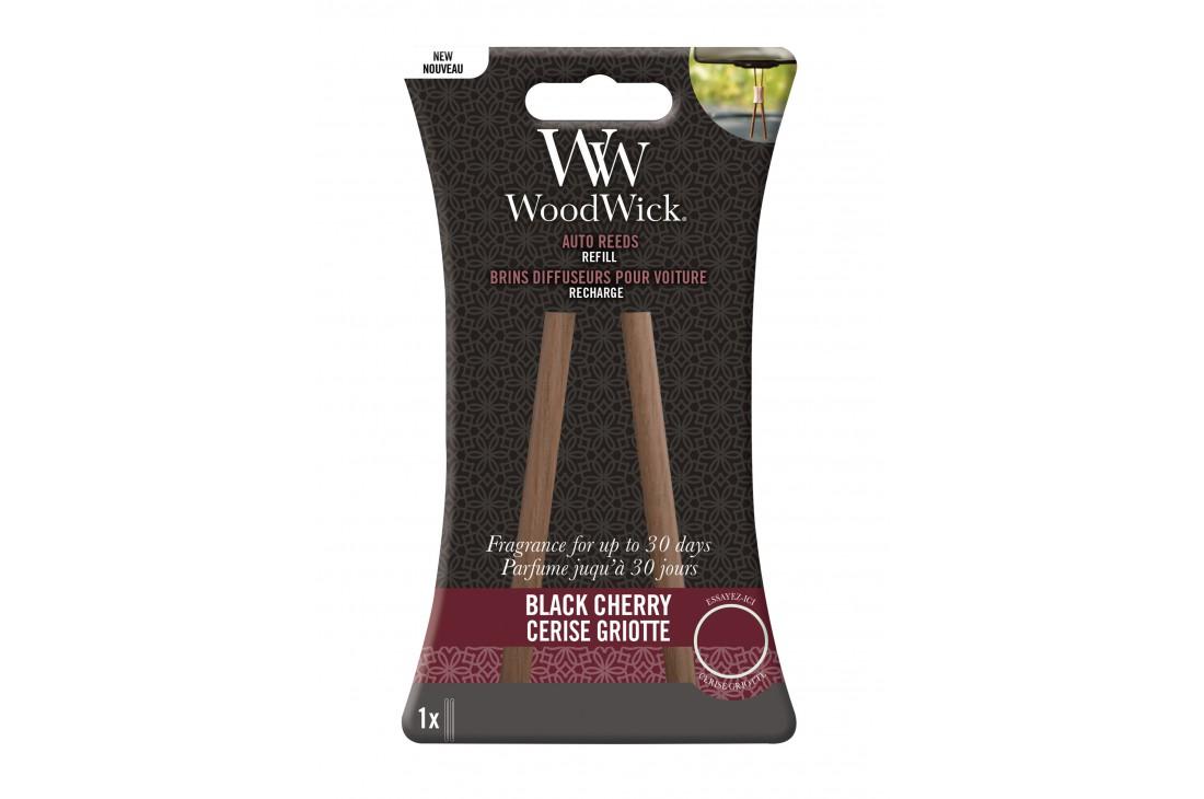 Woodwick Black Cherry Zapach Do Samochodu - Uzupełnienie