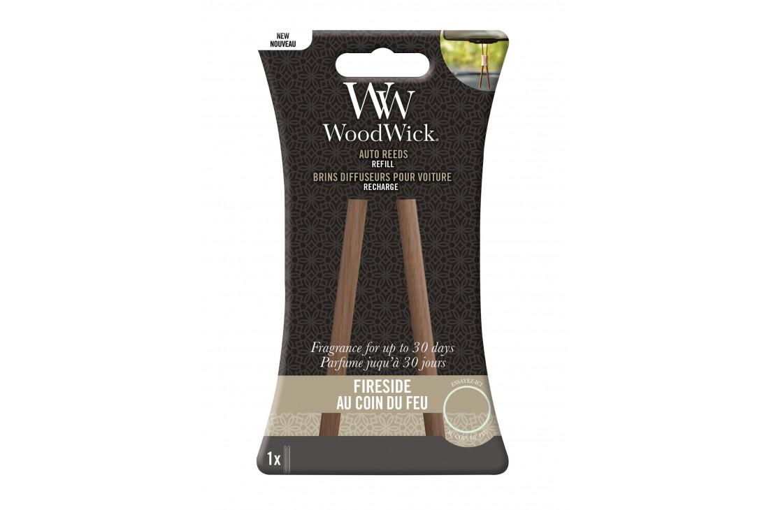 Woodwick Fireside Zapach Do Samochodu - Uzupełnienie