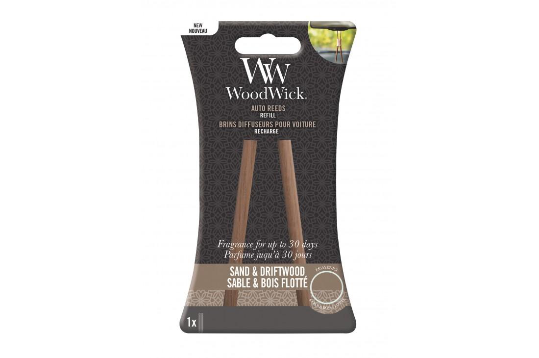 Woodwick Sand & Driftwood Zapach Do Samochodu - Uzupełnienie