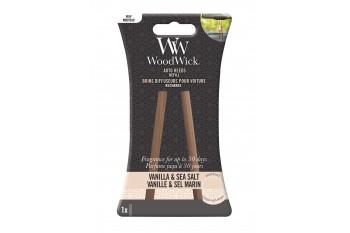 Woodwick Vanilla & Sea Salt Zapach Do Samochodu - Uzupełnienie