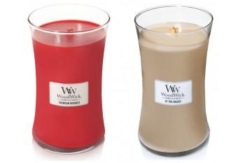 WoodWick Zestaw 2 Dużych Świec Zapachowych